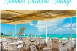 Turks and Caicos Collection Summer Vacation Savings on Food Wine Sunshine and Cooking