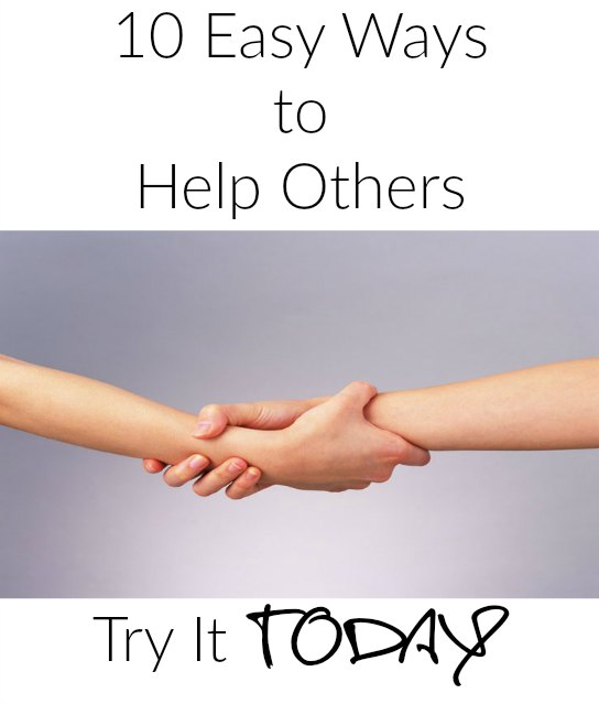 10 Easy Ways To Help Others on Food Wine Sunshine