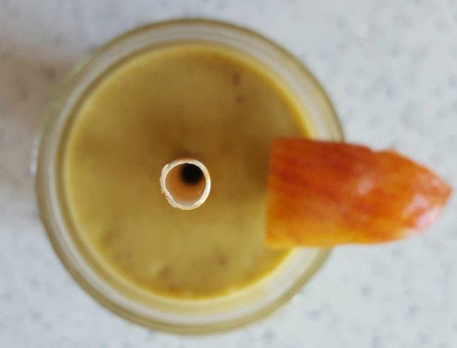 Avocado Peach Power Smoothie