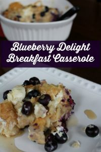 Blueberry Breakfast Casserole on Food Wine Sunshine and Cooking