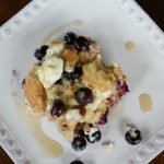 Blueberry Breakfast Casserole Recipe on Food Wine Sunshine and Cooking