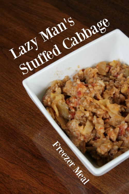 Lazy Man's Stuffed Cabbage