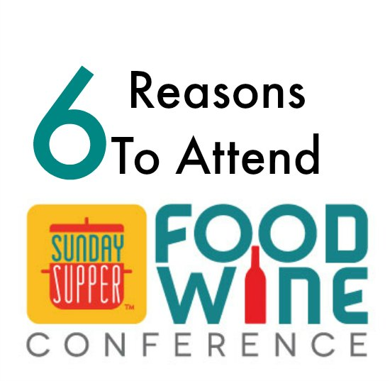 Reasons To Attend the Food Wine Conference on Food Wine Sunshine and Cooking