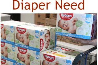 Help Huggies Combat Diaper Need on Food Wine Sunshine