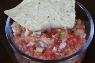 Fresh Peach Salsa Recipe on Food Wine Sunshine and Cooking