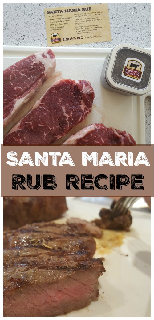 Santa Maria Steak Rub on Food Wine Sunshine and Cooking