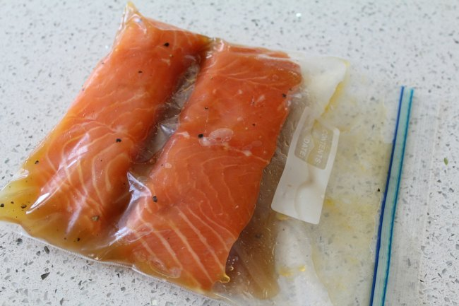 Easy Baked Salmon with Honey Citrus Glaze on Food Wine Sunshine and Cooking