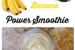 Avocado Banana Power Smoothie