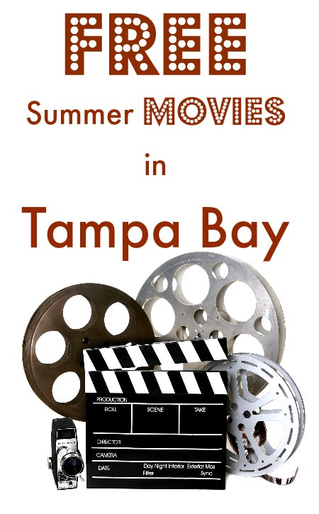Free Summer Movies in Tampa on Food Wine Sunshine