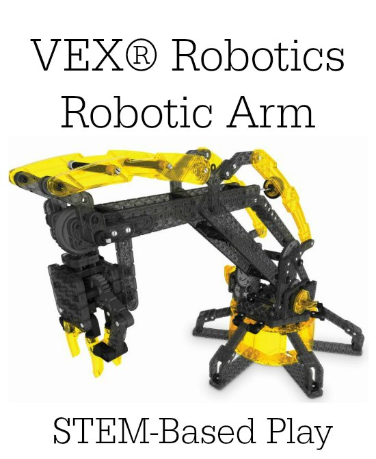 VEX® Robotics Robotic Arm - STEM-Based Play on Food Wine Sunshine