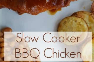 Slow Cooker BBQ Chicken on Food Wine Sunshine and Cooking