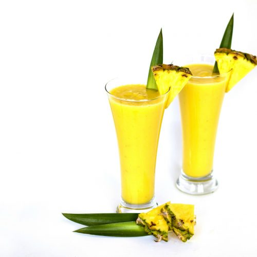 Pineapple Carrot Protein Smoothie