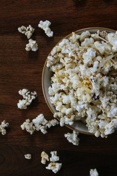 Spicy Popcorn Recipe - Healthy Snack Option on Food Wine Sunshine and Cooking