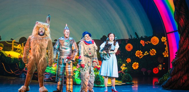 Wizard of Oz at the Straz Center Tampa