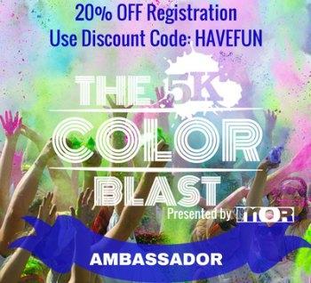 5k Color Blast Discount Code HAVEFUN