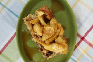 Apple Cinnamon Raisin French Toast Overnight Bake Recipe on Food Wine Sunshine and Cooking