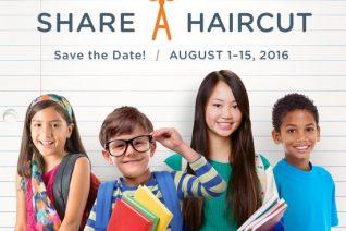 Hair Cuttery Back to School Share-A-Haircut - Get A Haircut & Give A Haircut