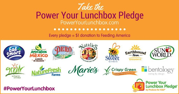 Eat Healthier This Back To School Season & Support Feeding America on Food Wine Sunshine