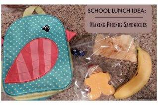 Making Friends Sandwiches - Perfect for Back To School on Food Wine Sunshine and Cooking