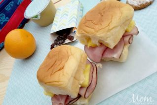 Ham and Pineapple Sliders on Food Wine Sunshine and Cooking
