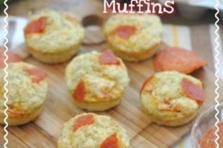 Cheese Savory Pizza Zucchini Muffins Recipe