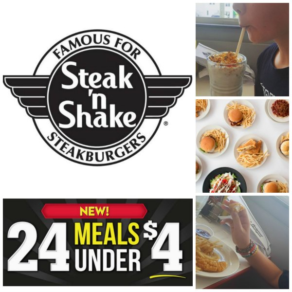 Steak 'n Shake $4 Meals