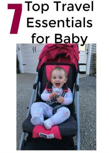 7 Top Travel Essentials for Baby on Food Wine Sunshine and Cooking