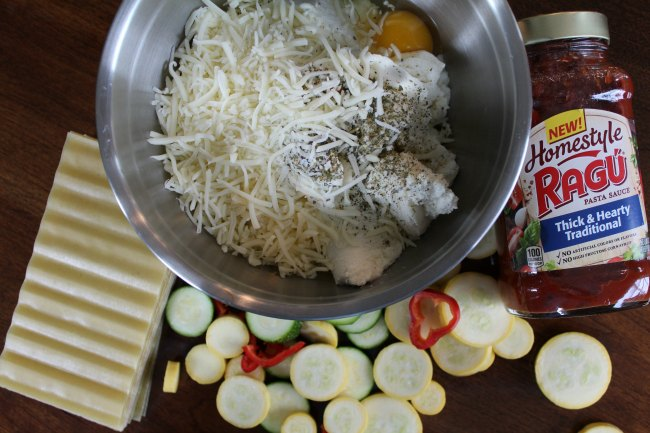 How to make easy Vegetable Lasagna