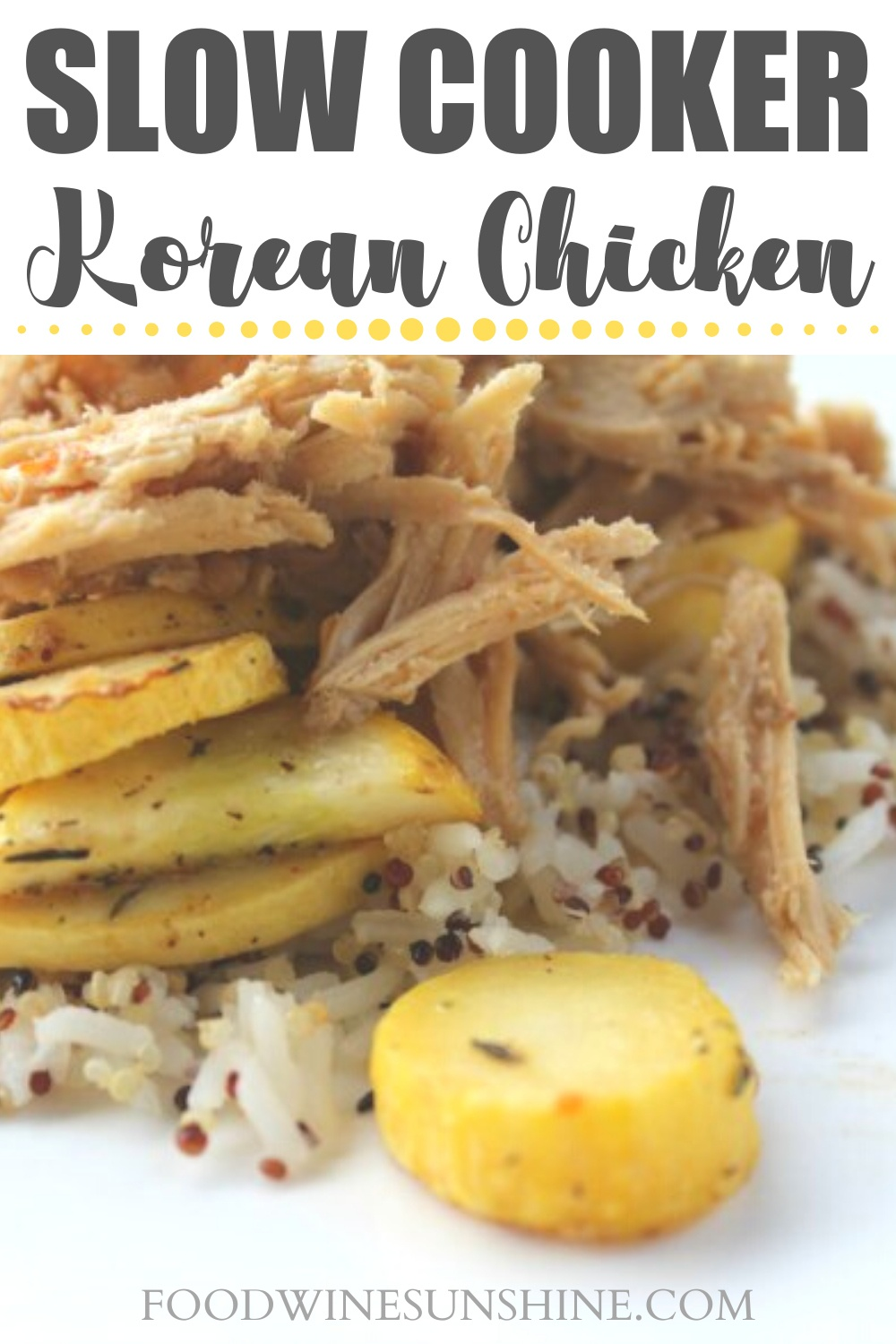 Best Slow Cooker Korean Chicken