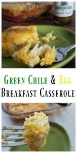 Green Chile and Egg Breakfast Casserole Recipe on Food Wine Sunshine