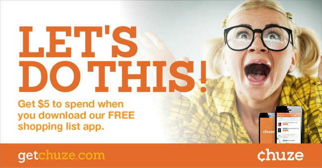 download the chuze app