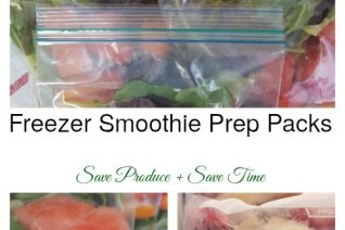 Freezer Smoothie Prep Packs