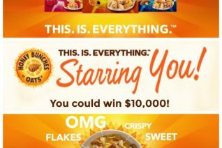 Honey Bunches of Oats Starring You Sweepstakes on Food Wine Sunshine