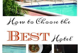How To Choose The Best Hotel on Food Wine Sunshine