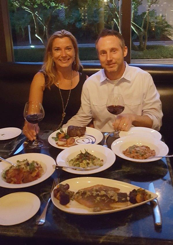 Fiorenzo Italian Steakhouse in Orlando menu