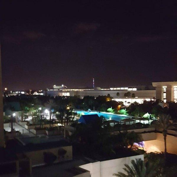 The view from Hyatt Regency Orlando rooms