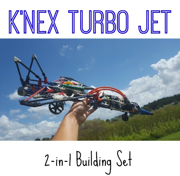 K'NEX Turbo Jet Building Set on Food Wine Sunshine and Cooking