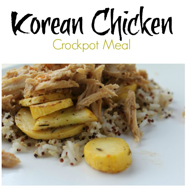Slow Cooker Korean Chicken