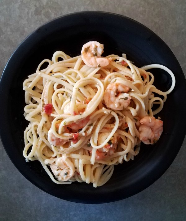Made From Scratch Shrimp Scampi in 10 Minutes on Food Wine Sunshine