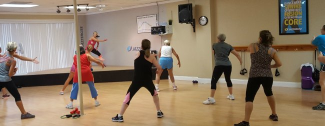 Jazzercise class in Tampa