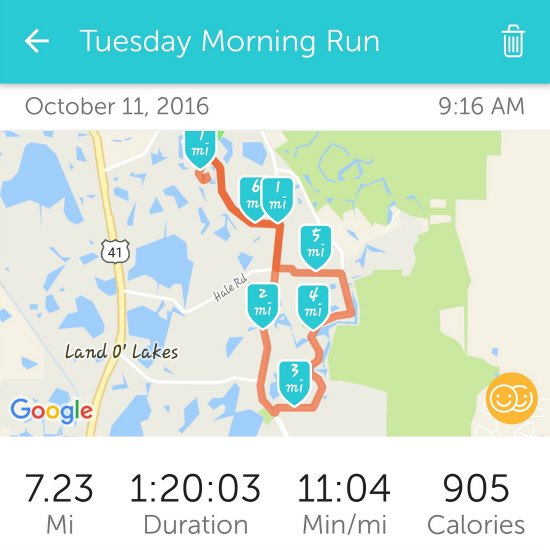 Long distance running after 40
