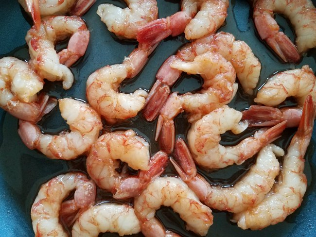 Quick Sweet and Spicy Shrimp