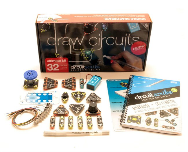 Circuit Scribe Coupon Code - Holiday Gift Idea on Food Wine Sunshine