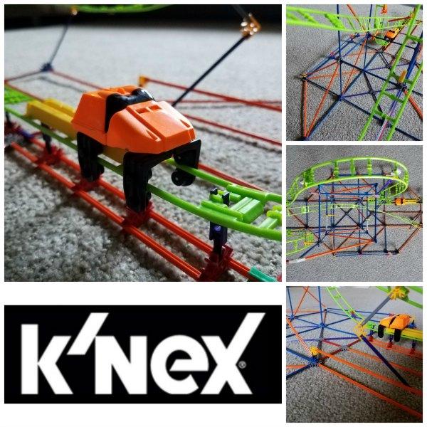 Get Rolling With K'NEX Infinite Journey Roller Coaster Building Set on Food Wine Sunshine