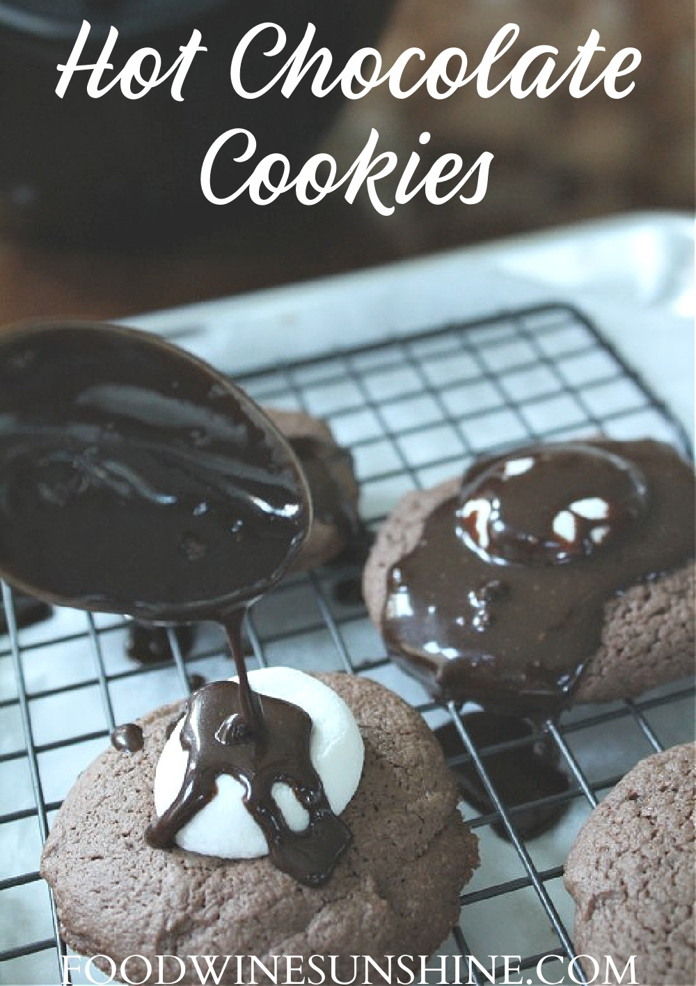 How To Make Hot Chocolate Cookies