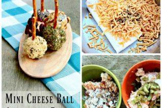 Mini Cheese Ball Appetizers on Food Wine Sunshine