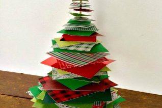 Christmas Tree Craft on Food Wine Sunshine