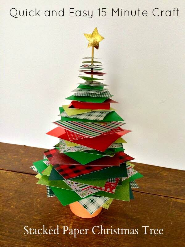 Christmas Tree Craft on Food Wine Sunshine
