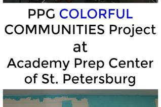 PPG COLORFUL COMMUNITIES Project at Academy Prep Center of St. Petersburg