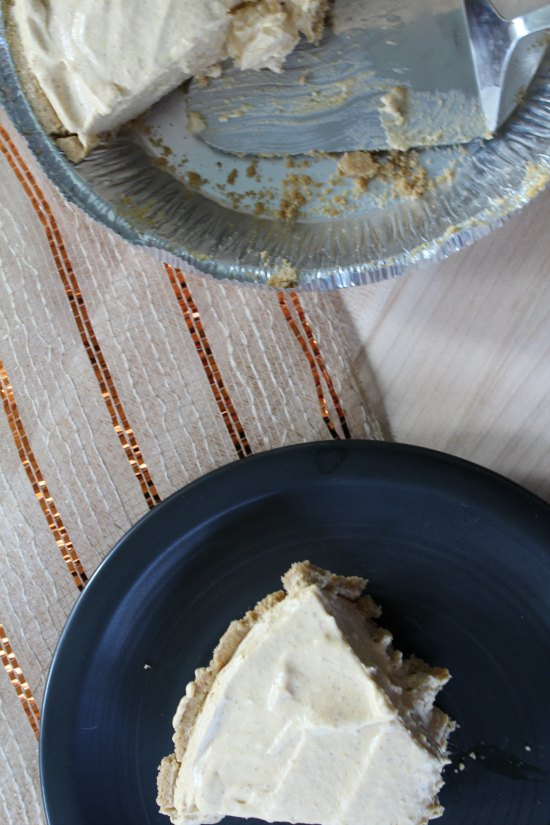Recipe for No Bake Pumpkin Cheesecake on Food Wine Sunshine